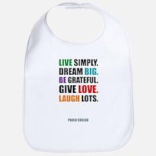 Paulo Coelho quote Bib