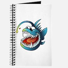 Cartoon Angler Fish Journal