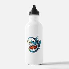 Cartoon Angler Fish Water Bottle
