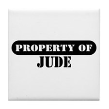 Property of Jude Tile Coaster
