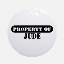 Property of Jude Ornament (Round)