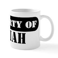 Property of Josiah Coffee Mug