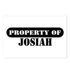 Property of Josiah Postcards (Package of 8)