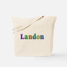 Landon Shiny Colors Tote Bag