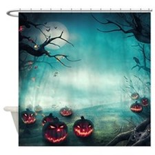 Halloween Forest Shower Curtain