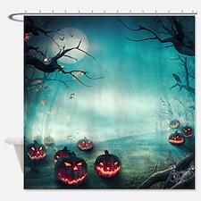 Halloween Forest Shower Curtain