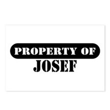 Property of Josef Postcards (Package of 8)