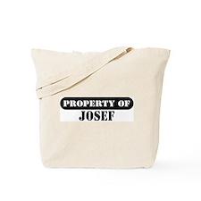 Property of Josef Tote Bag