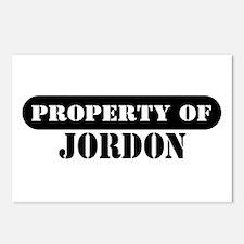 Property of Jordon Postcards (Package of 8)