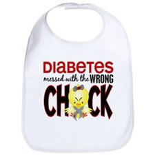 Diabetes Messed With The Wrong Chick Bib