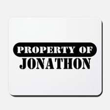 Property of Jonathon Mousepad