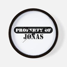 Property of Jonas Wall Clock