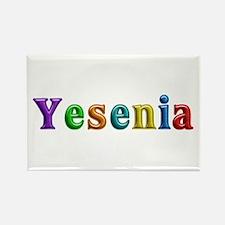 Yesenia Shiny Colors Rectangle Magnet