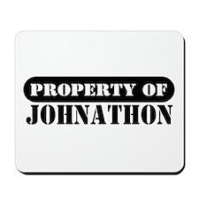 Property of Johnathon Mousepad