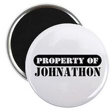 Property of Johnathon Magnet