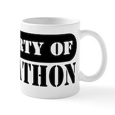 Property of Johnathon Small Mug