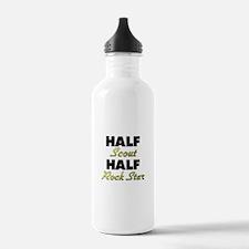 Half Scout Half Rock Star Water Bottle