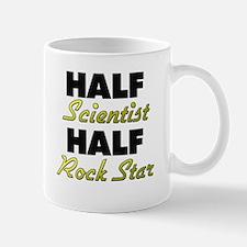Half Scientist Half Rock Star Mugs