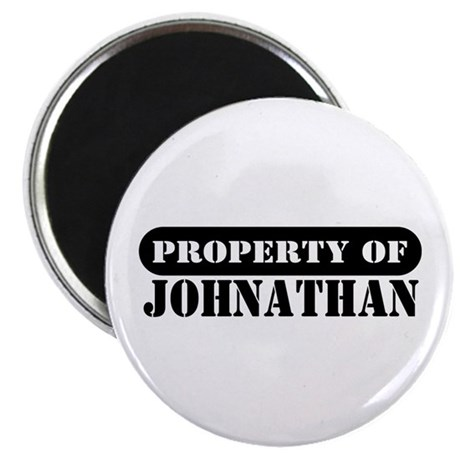 Property of Johnathan Magnet