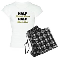 Half School Nurse Half Rock Star Pajamas