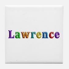 Lawrence Shiny Colors Tile Coaster