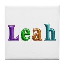 Leah Shiny Colors Tile Coaster