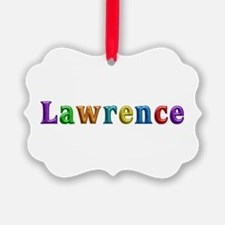 Lawrence Shiny Colors Ornament