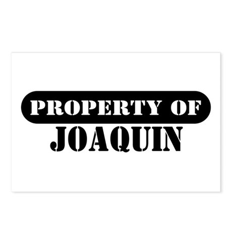 Property of Joaquin Postcards (Package of 8)