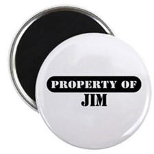 Property of Jim Magnet