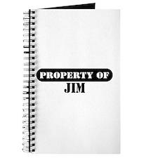 Property of Jim Journal