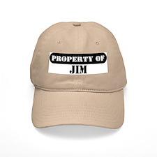Property of Jim Baseball Cap