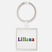 Liliana Shiny Colors Square Keychain
