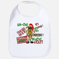 Funny Christmas Hump Day Camel Bib