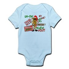 Funny Christmas Hump Day Camel Infant Bodysuit