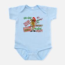 Funny Christmas Hump Day Camel Infant Bodysuit
