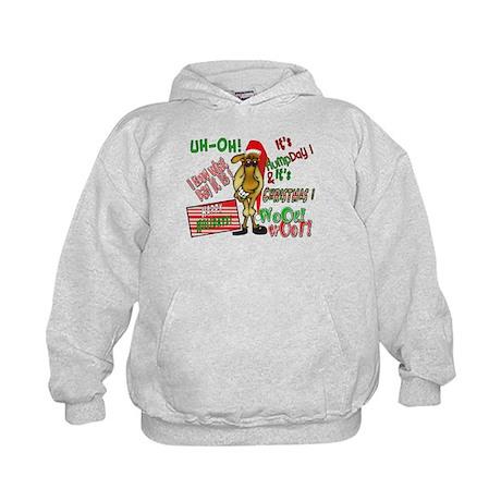 Funny Christmas Hump Day Camel Kids Hoodie