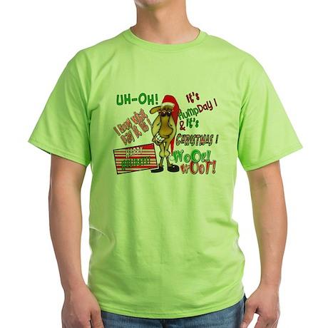 Funny Christmas Hump Day Camel Green T-Shirt