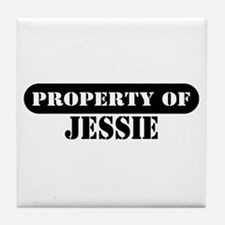 Property of Jessie Tile Coaster