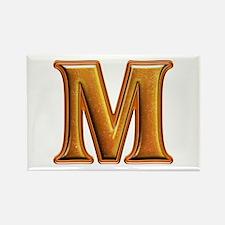 M Shiny Colors Rectangle Magnet