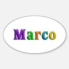 Marco Shiny Colors Oval Decal