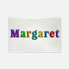 Margaret Shiny Colors Rectangle Magnet