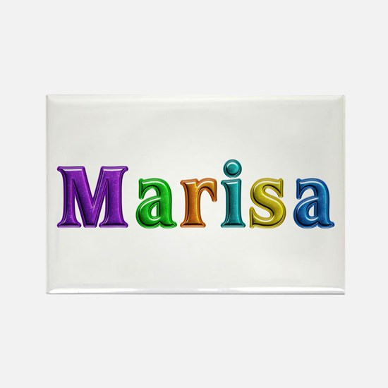Marisa Shiny Colors Rectangle Magnet