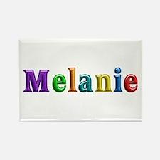 Melanie Shiny Colors Rectangle Magnet