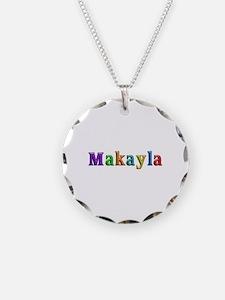 Makayla Shiny Colors Necklace