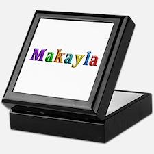 Makayla Shiny Colors Keepsake Box