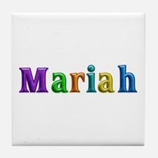 Mariah Shiny Colors Tile Coaster