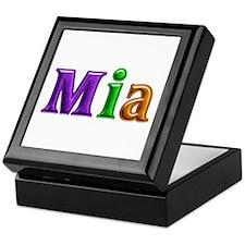 Mia Shiny Colors Keepsake Box