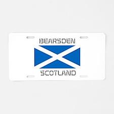 Bearsden Scotland Aluminum License Plate