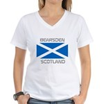Bearsden Scotland Women's V-Neck T-Shirt