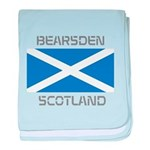 Bearsden Scotland baby blanket